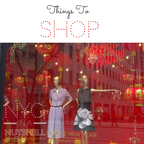Notes From Another Land / NYC in a nutshell: Shopping in Manhattan