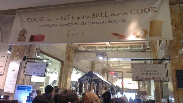 Notes From Another Land / Eataly NYC