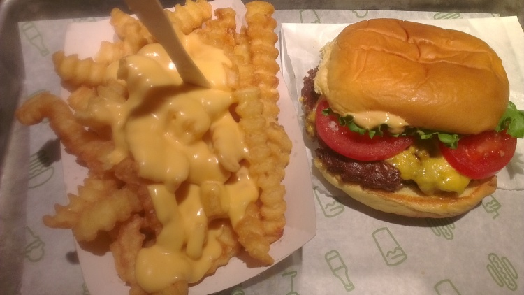 Notes From Another Land / Shake Shack NYC
