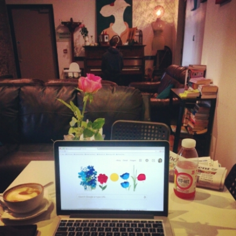 Notes From Another Land / Remote Work from the Duck and Cup Cafe in Ireland