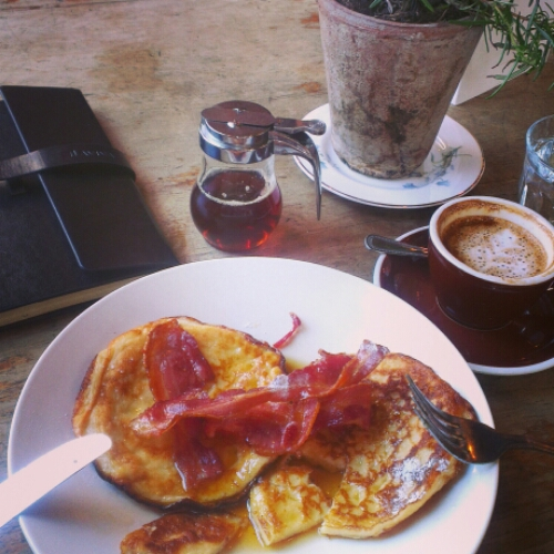 Notes From Another Land / Canadian pancakes