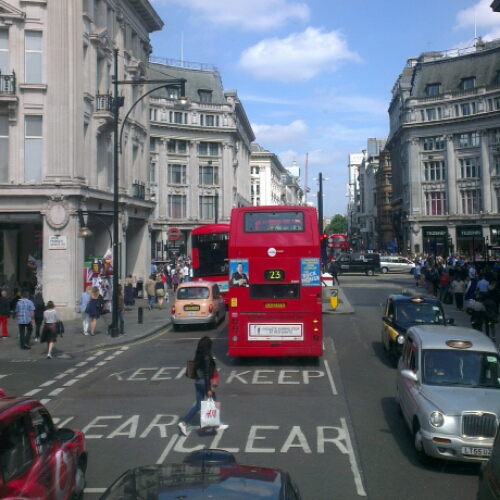 Notes From Another Land / Oxford Street