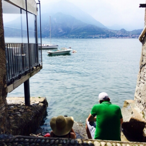 Notes From Another Land / Irish husband and Canadian I in Lake Como, Italy