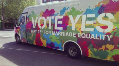 Notes From Another Land | Dublin Marriage Equality Referendum