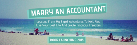 Marry An Accountant Book Banner