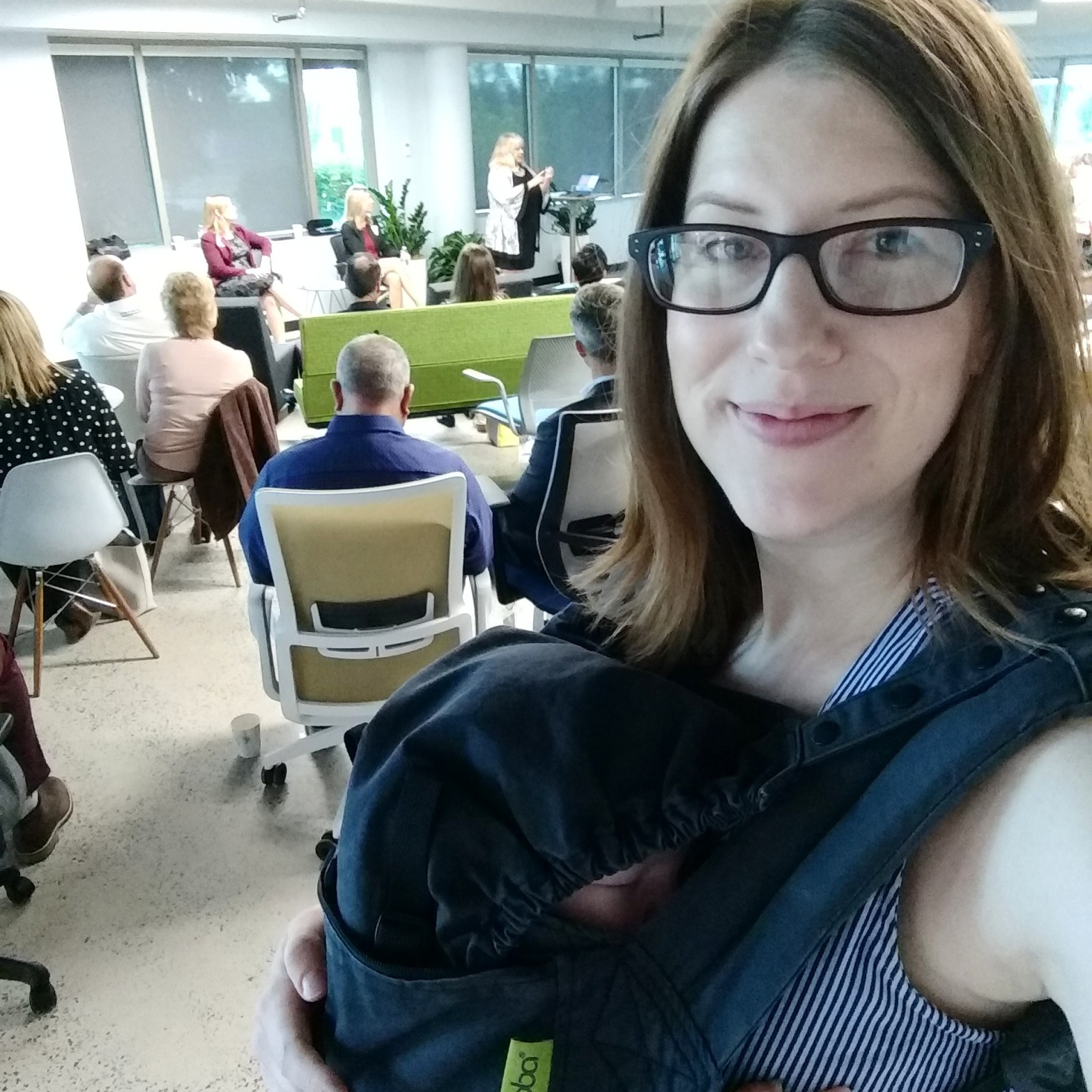 Notes from another land / baby and Amy Maureen Lynch attending events