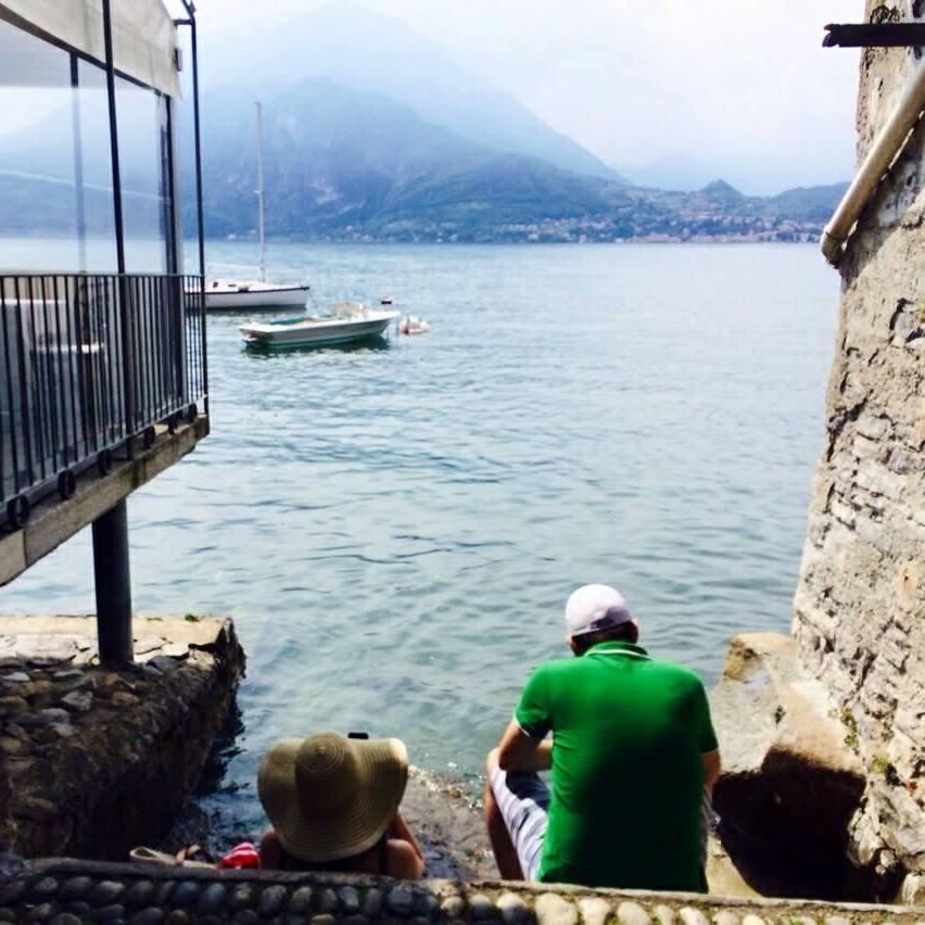 Amy Lynch Lake Como Italy