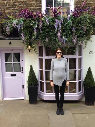Hampstead, London, England in 2016: Getting ready to become a parent.