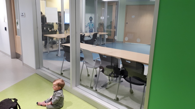 Amy Lynch's baby in the DARE District business incubator
