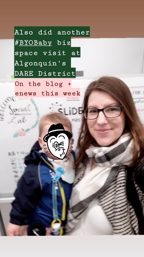 Amy Lynch with Baby: Algonquin College DARE District Ottawa Campus