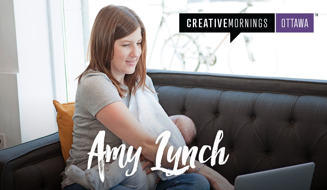 Amy Lynch CreativeMornings Ottawa