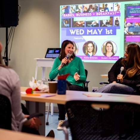 Babies Business + Breakfast May 2019 Pop-Up Event by Amy Maureen Lynch