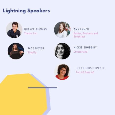Launch of Eastern Ontario's WEKH Lightning Talk Speakers
