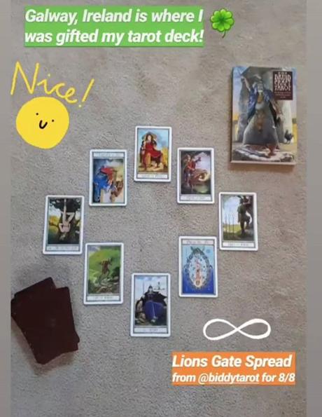 Amy Lynch Notes From Another Land Tarot Intuitive   DruidCraft Tarot Deck