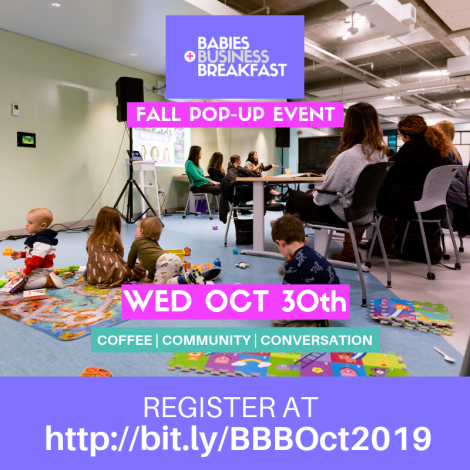 Babies Business + Breakfast Fall 2019 Event