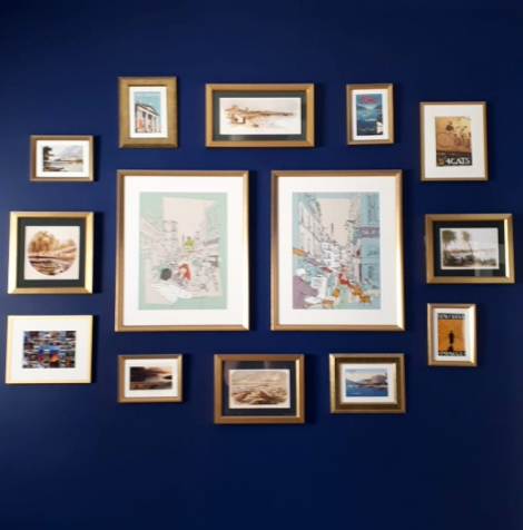 Notes From Another Land   Travel Print Gallery Wall   Amy Maureen Lynch