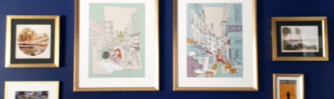 Notes From Another Land | Travel Print Gallery Wall | Amy Maureen Lynch