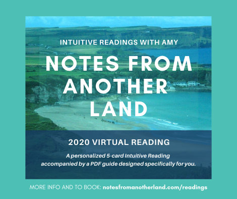 Notes From Another Land Virtual Intuitive Readings 2020