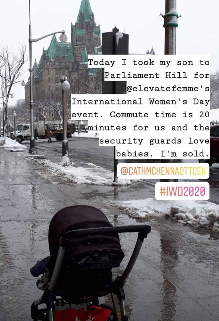 Amy Maureen Lynch brings her toddler to Parliament Hill in Canada | Notes From Another Land