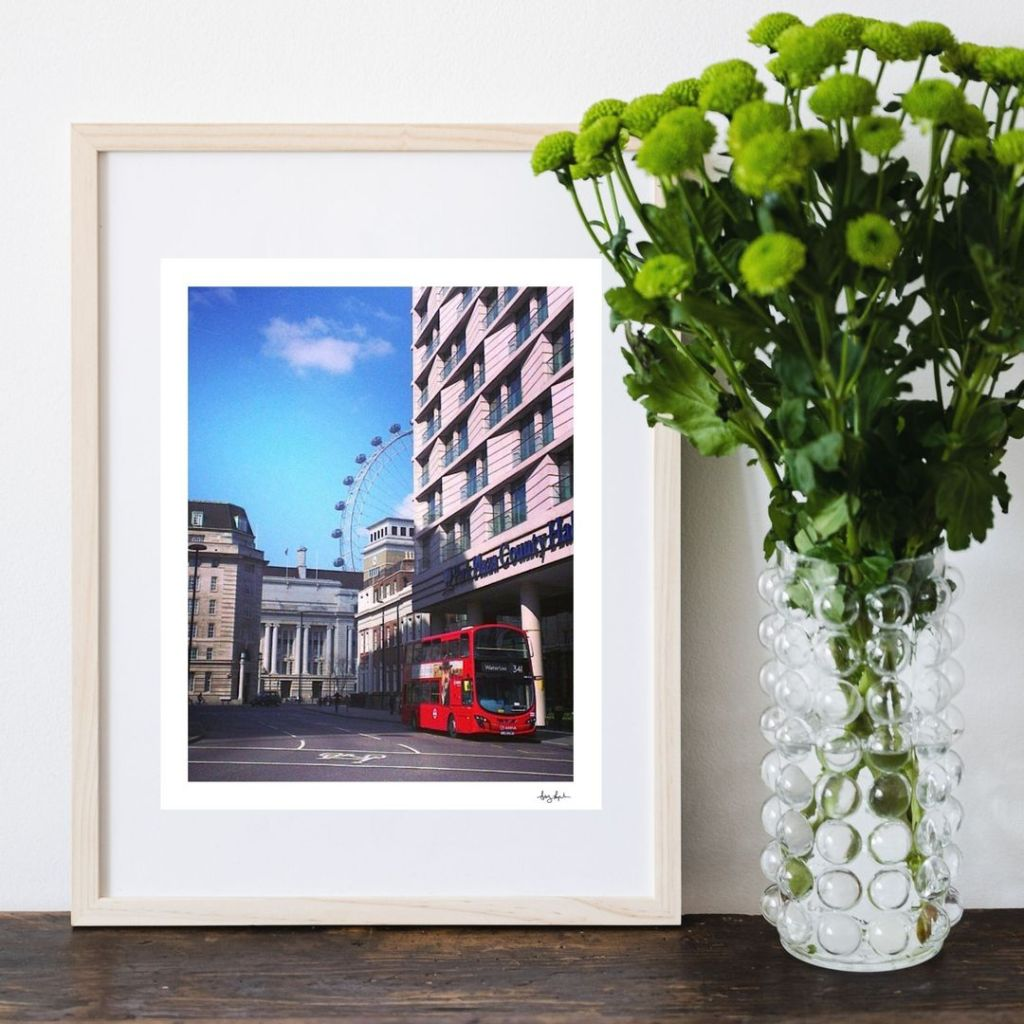 London Collection Fine Art Travel Prints: Notes From Another Land