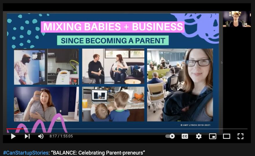 Mixing Babies And Business Amy Lynch Startup Vancouver